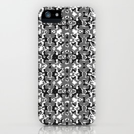 Dark Camo Style Design iPhone Case