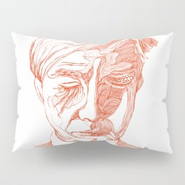 Andy portrait (Red) Pillow Sham