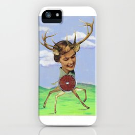 Frolicking Dear iPhone Case