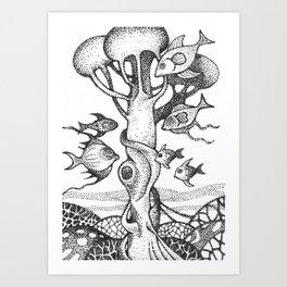 fish5 Art Print