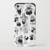 pirates iPhone & iPod Cases featuring Pirates by Louis Van Driessche