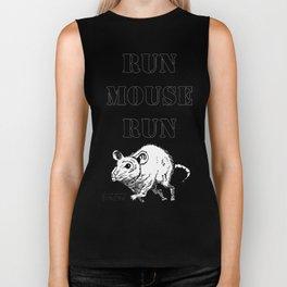 Run Mouse Run Biker Tank