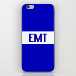 EMT: The Thin White Line iPhone Skin