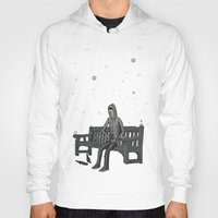 whisky Hoodies featuring snow & whisky by ASIMON