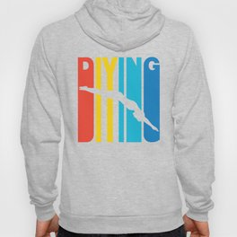 Retro Style Diving Diver Hoody