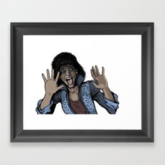 Thrill Framed Art Print
