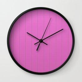 Dva Basic Stripes Pink Skin Wall Clock