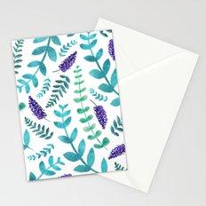 Greenery Pattern II Stationery Cards