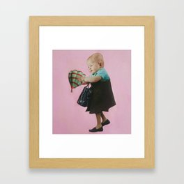 Curiousity Framed Art Print