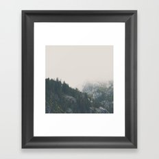 The power of imagination makes us infinite. Framed Art Print