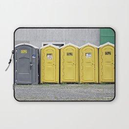 Odd Man Outhouse Laptop Sleeve