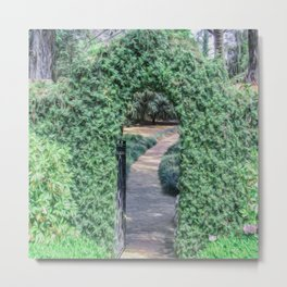 A Secret Doorway Metal Print