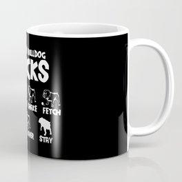 Bulldog Tricks Coffee Mug