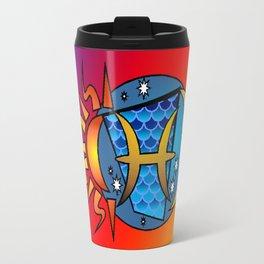 astrology,Pisces Travel Mug