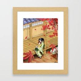 Kenshin's family Framed Art Print