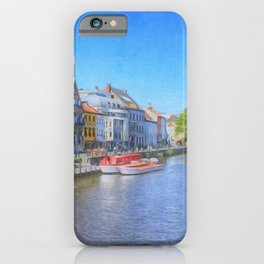The Canals Of Ghent, Belgium iPhone Case