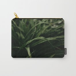 Rain on Grass Carry-All Pouch