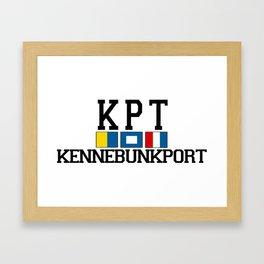 Kennebunkport. Framed Art Print