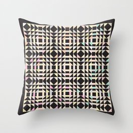 The King's Dash in Pastel Party Throw Pillow
