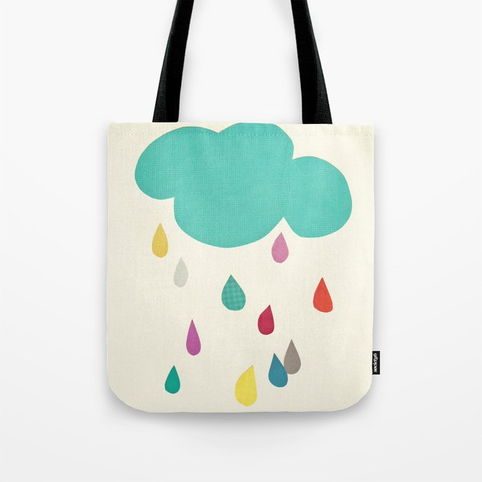 Sunshine and Showers Tote Bag