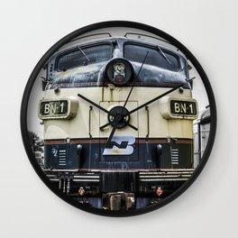 Cab Forward Wall Clock