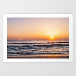 Atlantic Ocean Waves 4135 Art Print