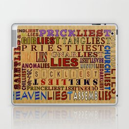 LIES - 058 Laptop & iPad Skin
