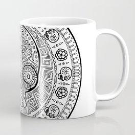 Skull mexican art from the Path to Mictlan Coffee Mug