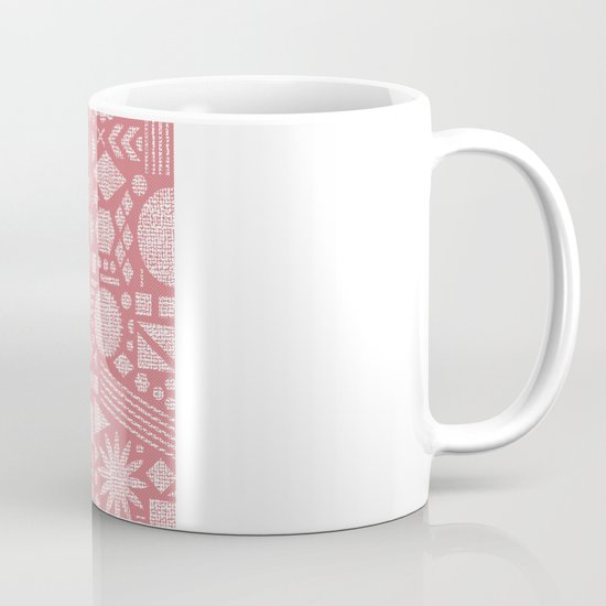 Modern Elements with Bubble Gum. Mug