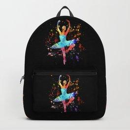 Ballerina Blacky Black Backpack