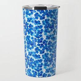 Forget-me-not Flowers White Background #decor #society6 #buyart Travel Mug