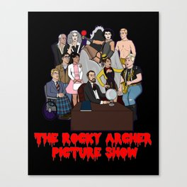The Rocky Archer Picture Show Canvas Print