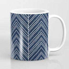 Strand in Navy Coffee Mug