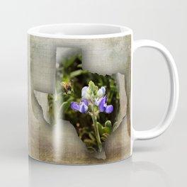 Baby Bluebonnets with a Bee Coffee Mug