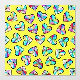 Hearts of glass II Canvas Print