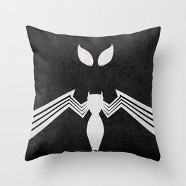 Spider-Man Black Costume Throw Pillow