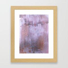 Distressed 6 Framed Art Print