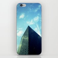 building iPhone & iPod Skins featuring Building by Jacquie Fonseca