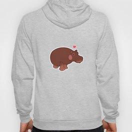 Hippo Love Hoody