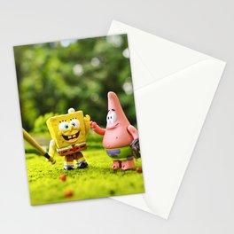 Spongebob & Patrick Stationery Cards