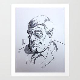 Dodik Art Print