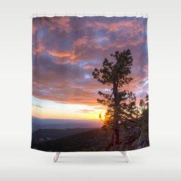 Grand Canyon, Parashant International Night Sky Province Shower Curtain