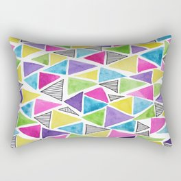 Geometric doodle Rectangular Pillow