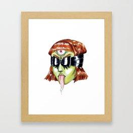 Hexe Framed Art Print