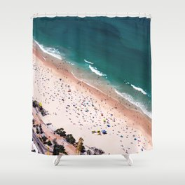 Day of Beach Shower Curtain