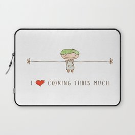 I love cooking boy Laptop Sleeve