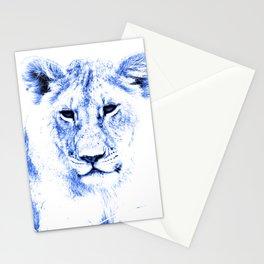 Rainbow Animals Lion Stationery Cards