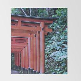 Inari Gates Galore Throw Blanket