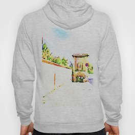 L'Aquila: mirror, wall and city gate Hoody