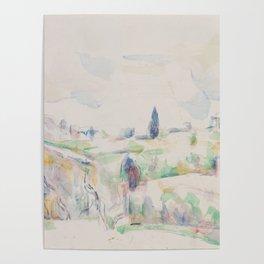 Landscape in Provence Poster
